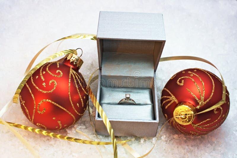 Sorpresa di Natale fotografie stock libere da diritti