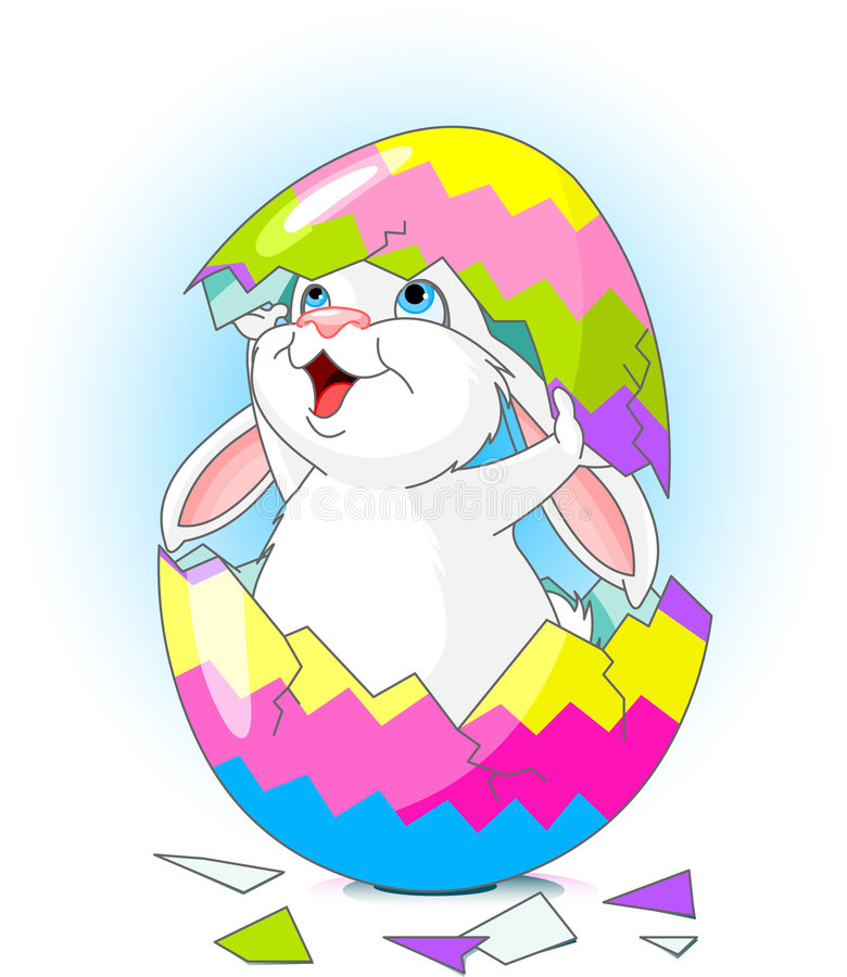 Sorpresa di Pasqua royalty illustrazione gratis