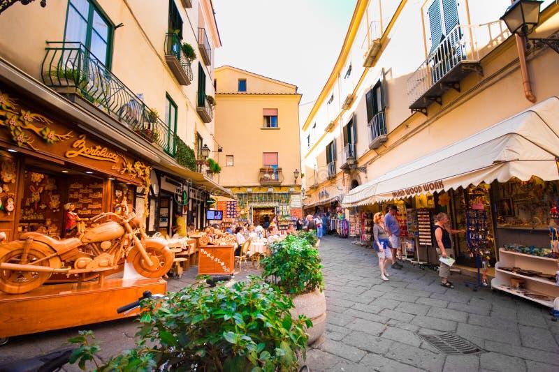 Sorrent Italien stockfotos