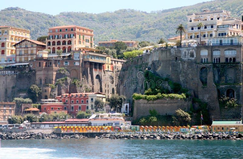 Sorrent-Küste Italien lizenzfreies stockbild