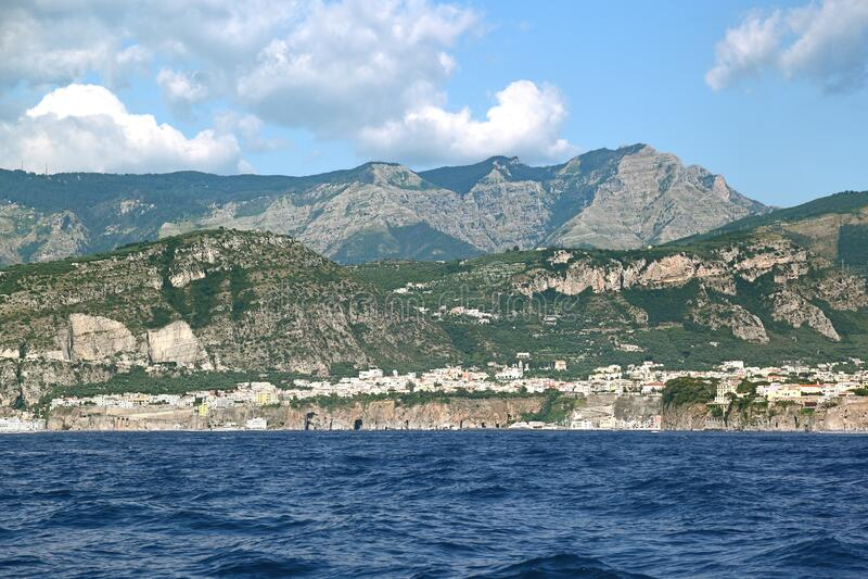 Sorrentine Peninsula - Italy stock photography