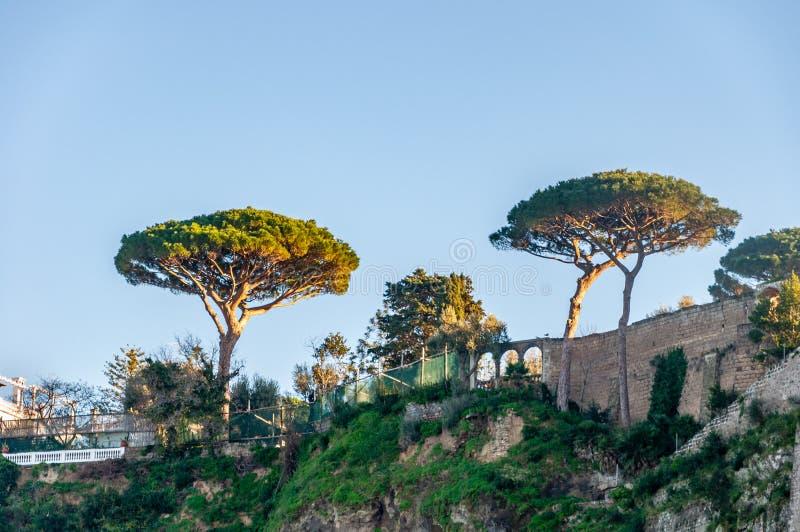 Sorrento, Amalfi Coast, Italy. Sorrento, a seaside resort on the famous Amalfi Coast, in the Gulf of Naples and close to Amalfi, Positano and Pompeii. View of royalty free stock photo
