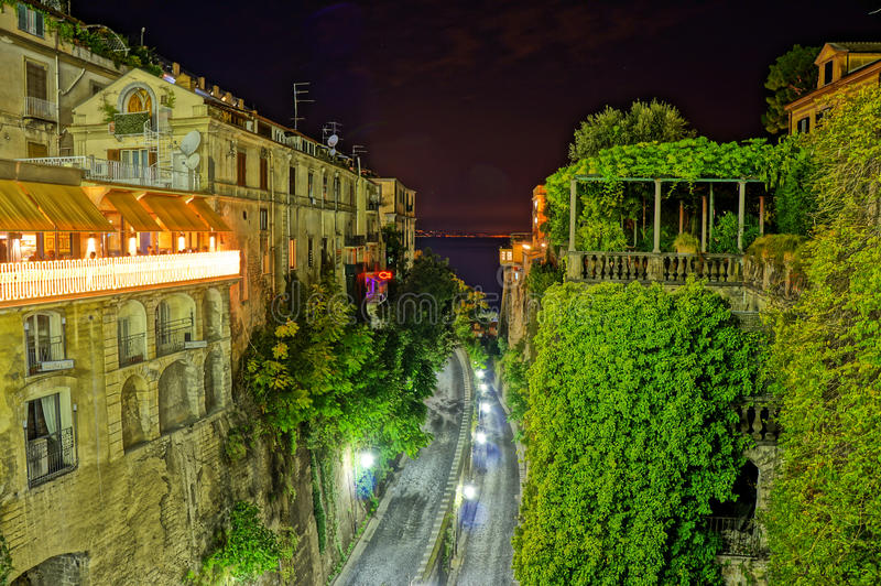 Sorrento in HDR stock photo