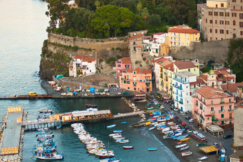 Sorrento Italia imagen de archivo