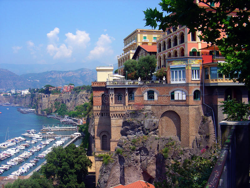 Sorrento Italia imagen de archivo libre de regalías