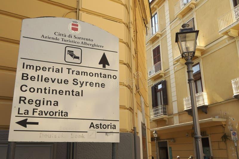 Sorrento Italia imagenes de archivo