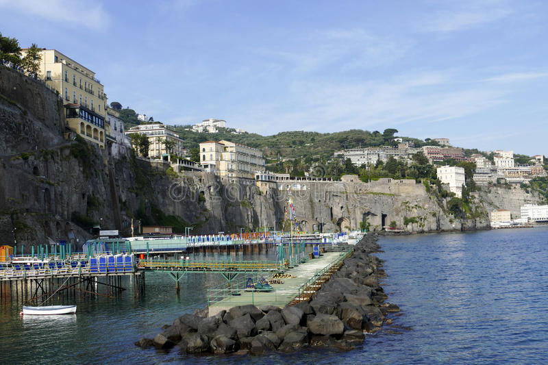 Sorrento, Italia fotos de archivo