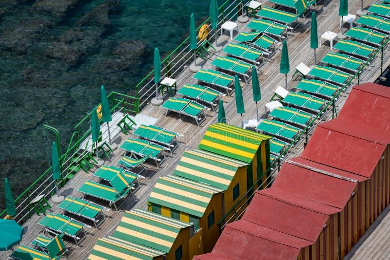 Sorrento italy in der Bucht der Nacken stockbilder