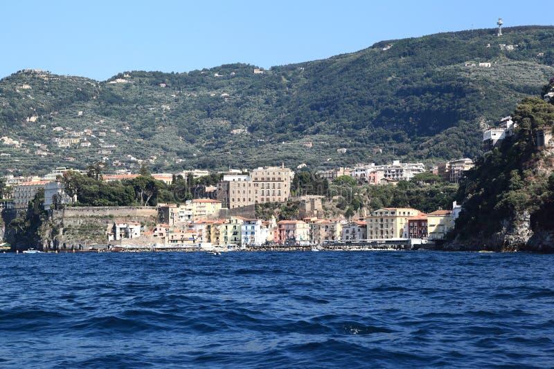 Sorrento, Italy: Old Port Area royalty free stock photos