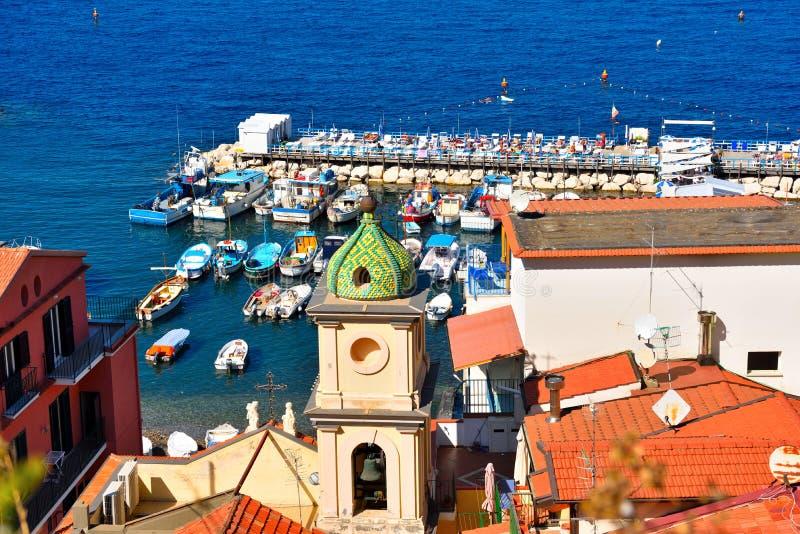 Sorrento napoli Italy. Panorama of Sorrento Napoli Italy royalty free stock image