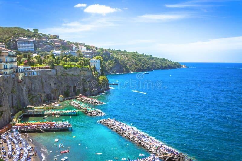 Sorrento, panorama fotografia de stock royalty free