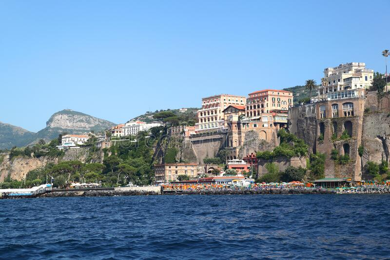 Sorrento, panoramic view - Italy royalty free stock photography