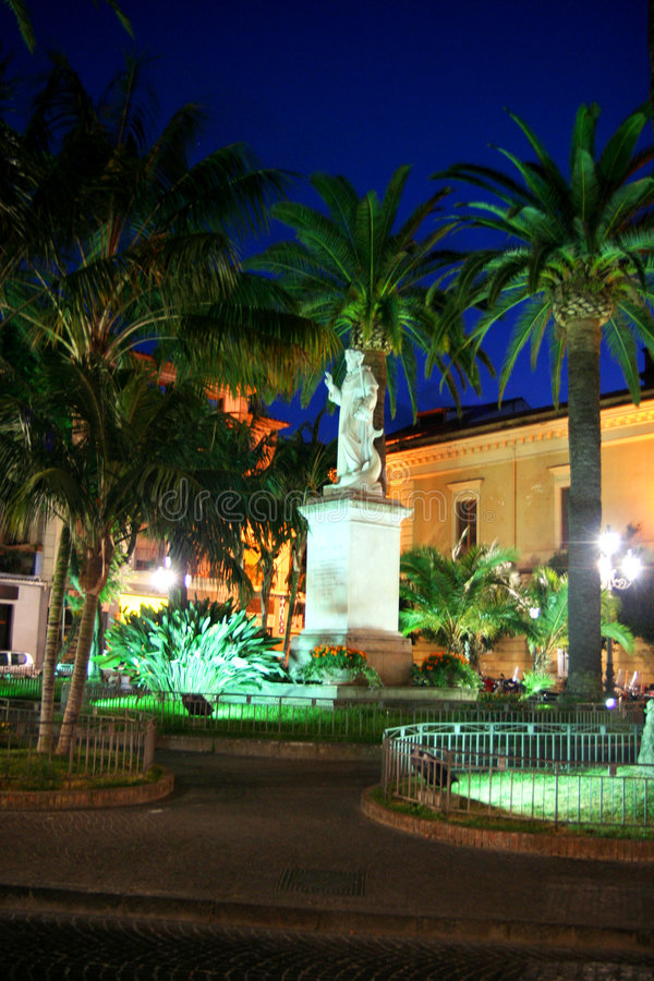 Download Sorrento Piazza stock image. Image of historic, town, sorrento - 5200887