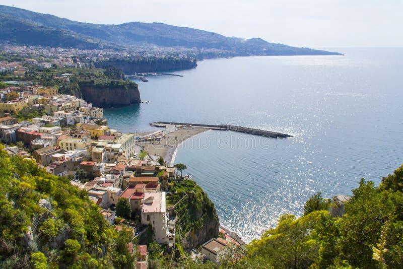Sorrento. View of sorrento - amalfi coast - italy royalty free stock photo