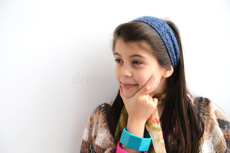 Sorridere bianco paziente della ragazza fotografie stock libere da diritti