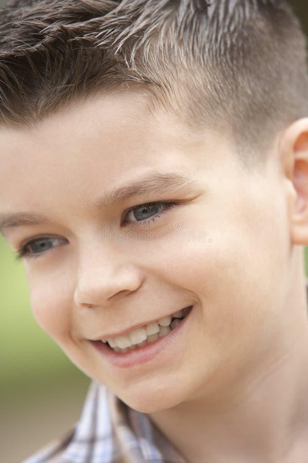 sorridere del ritratto del ragazzo fotografie stock