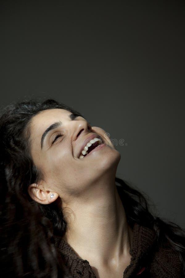 Sorridere dell'adolescente fotografie stock
