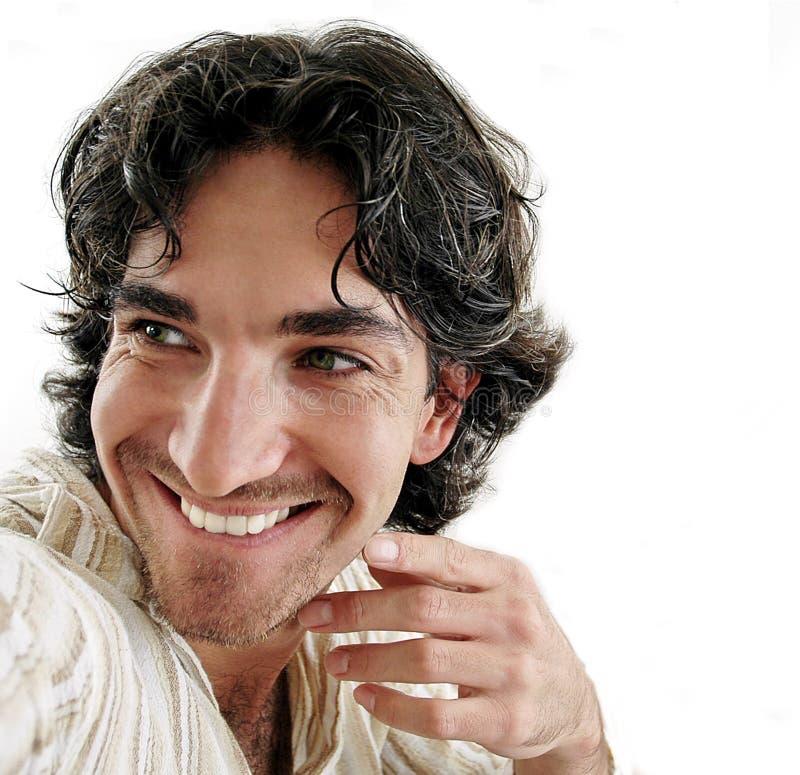 sorridere dell'uomo immagini stock libere da diritti