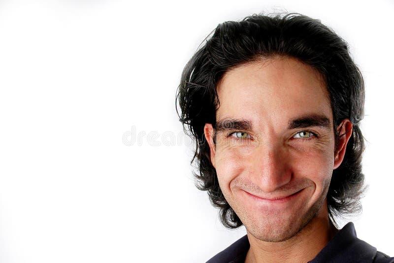 Sorridere Dell Uomo Fotografia Stock