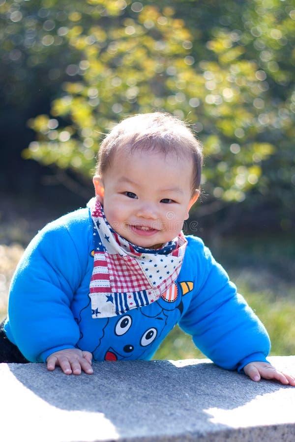 Sorridere dolce del bambino immagini stock