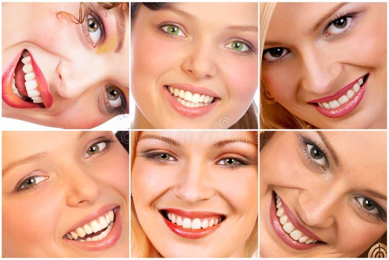 Sorrisi fotografie stock