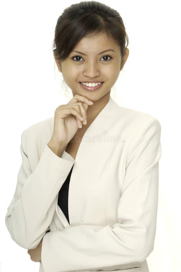 Download Sorriso útil foto de stock. Imagem de povos, branco, menina - 114776