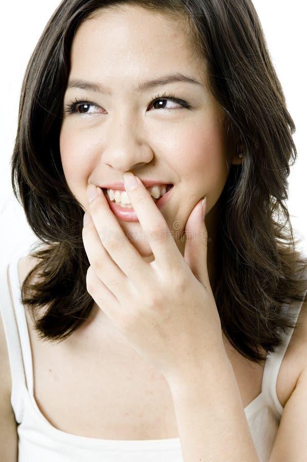 Sorriso asiático fotos de stock royalty free