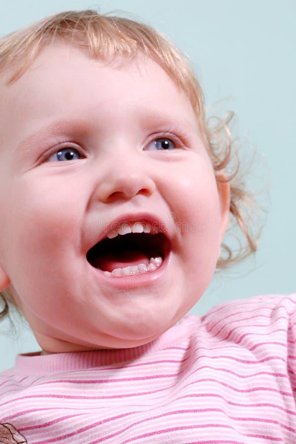 Sorriso da criança fotografia de stock royalty free