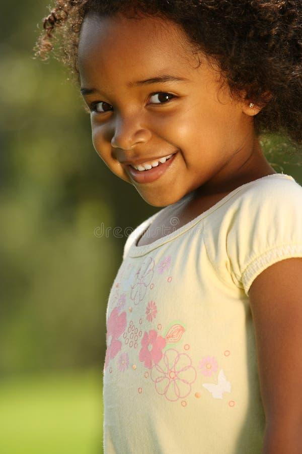 Sorriso da criança fotografia de stock