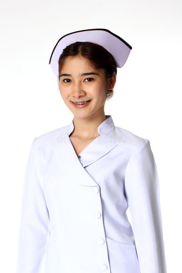 Sorriso da enfermeira imagens de stock royalty free