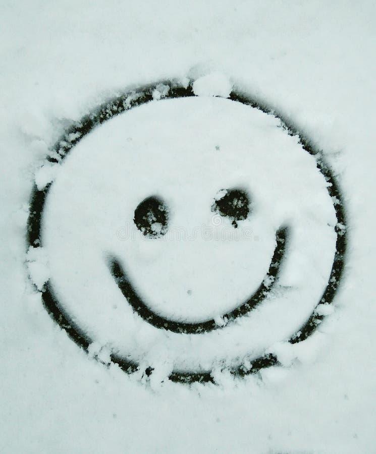 Sorriso da neve fotografia de stock