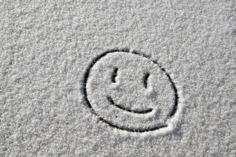Sorriso da neve foto de stock