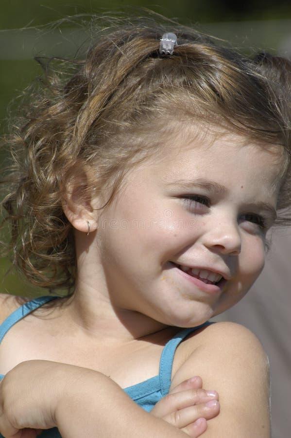 Sorriso da rapariga imagem de stock royalty free