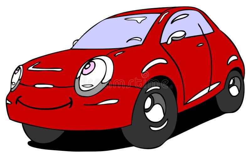 Sorriso do carro ilustração stock