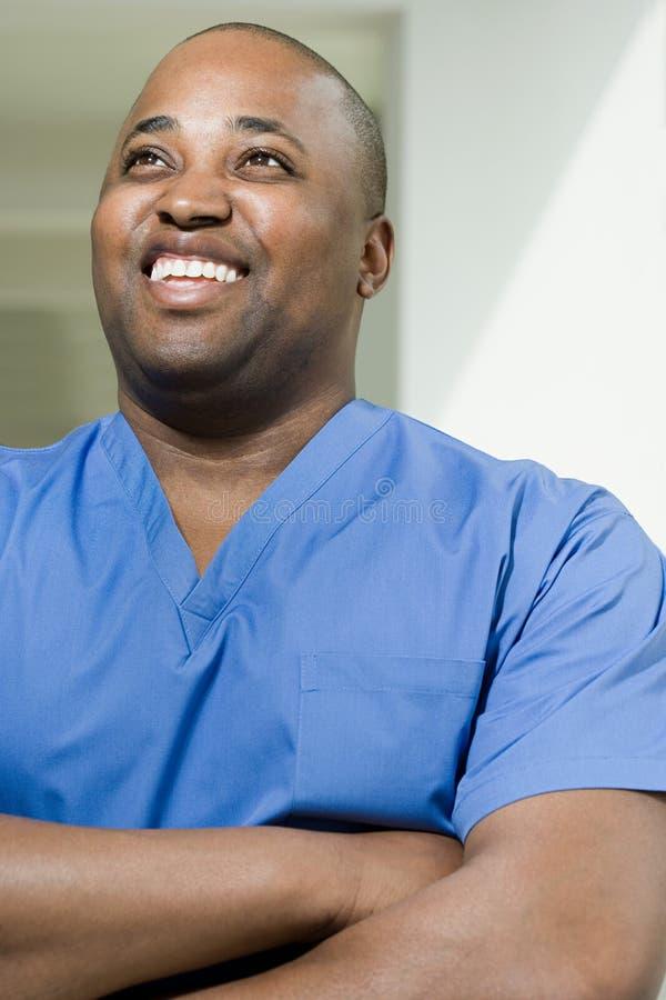 Sorriso do cirurgião fotos de stock royalty free