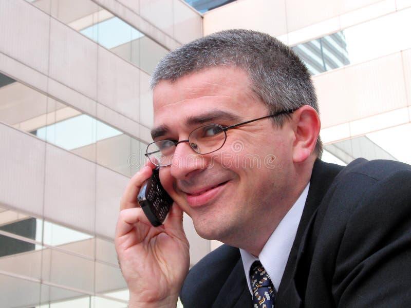 Sorriso do homem de negócios