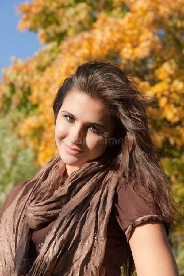Sorriso do outono foto de stock royalty free