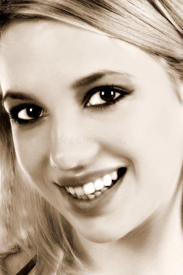 Download Sorriso dolce immagine stock. Immagine di bello, chic, people - 450163