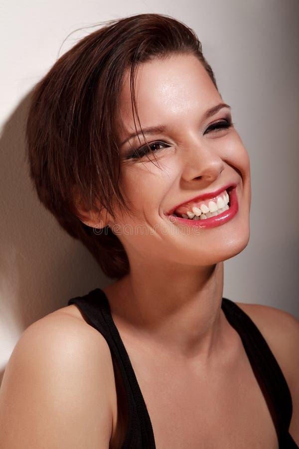 Sorriso ensolarado imagens de stock