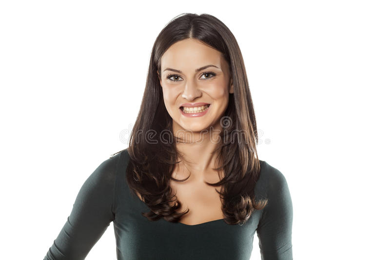 Sorriso falsificado fotografia de stock royalty free