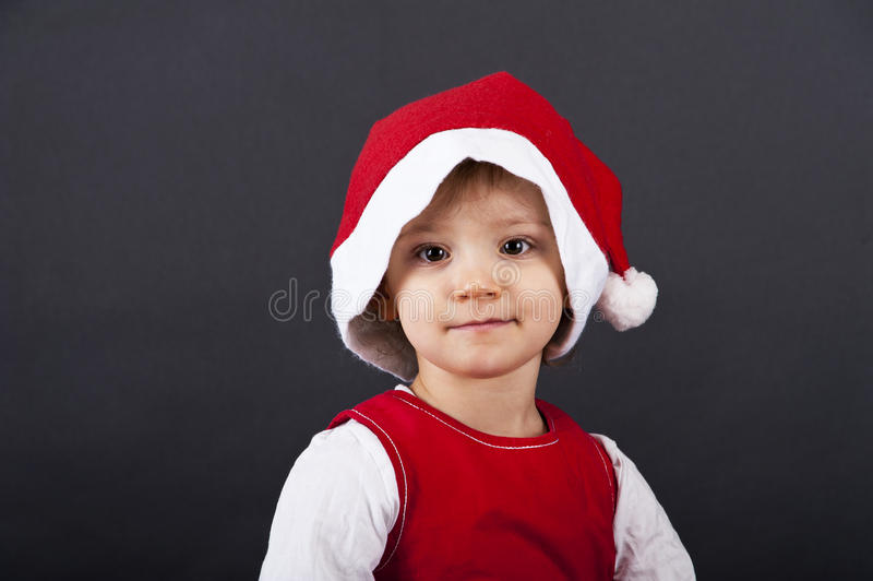 Sorriso feliz da menina foto de stock