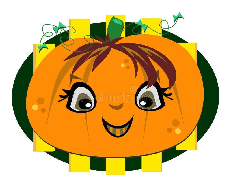 Sorriso feliz de Halloween ilustração do vetor