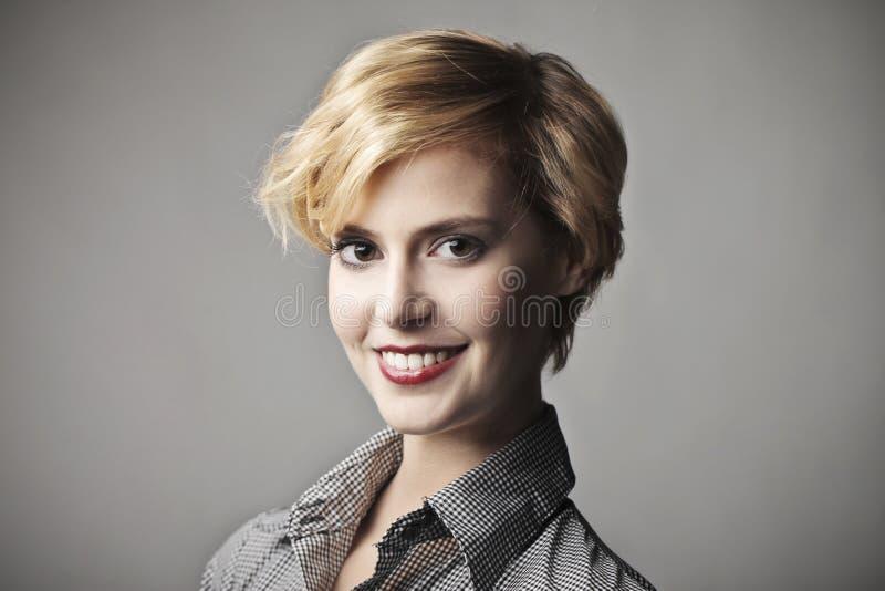 Sorriso Fino Fotografia de Stock