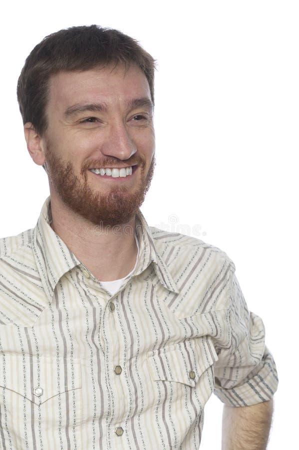 Sorriso fuori dalla macchina fotografica immagini stock libere da diritti
