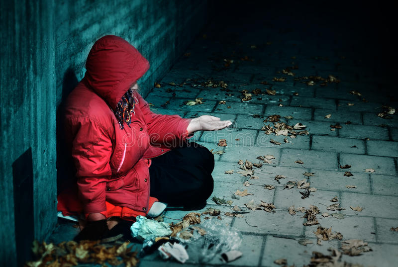 Download Sorrow stock photo. Image of resting, arms, poverty, person - 34476338