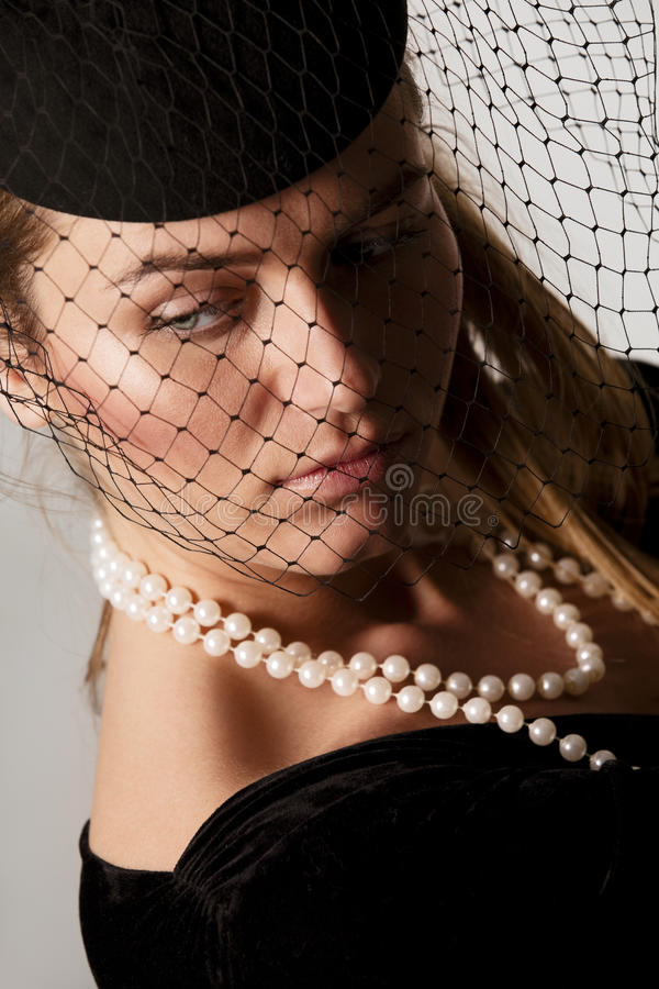 Sorrowful Widow Royalty Free Stock Image