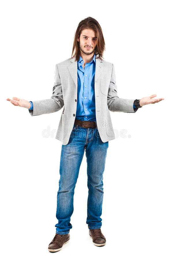 Sorry businessman royalty free stock images