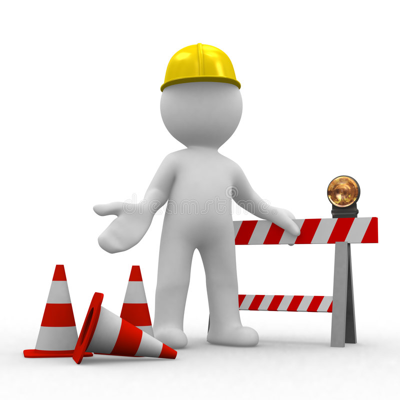 Free Sorry, Under Construction Stock Photography - 2645662