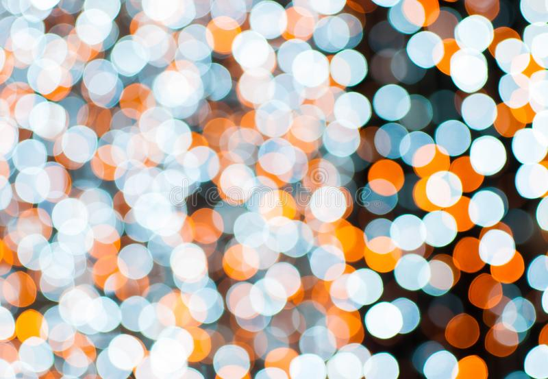 Sort of crcle bokeh illuminated. royalty free stock photos