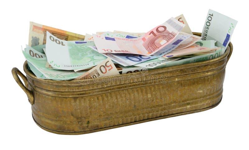 Sort d'euro argent image stock